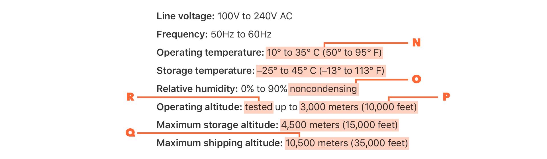 Macbook Pro 電力条件と動作環境(HK)