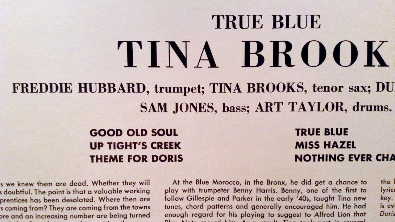 True Blue - Tina Brooks