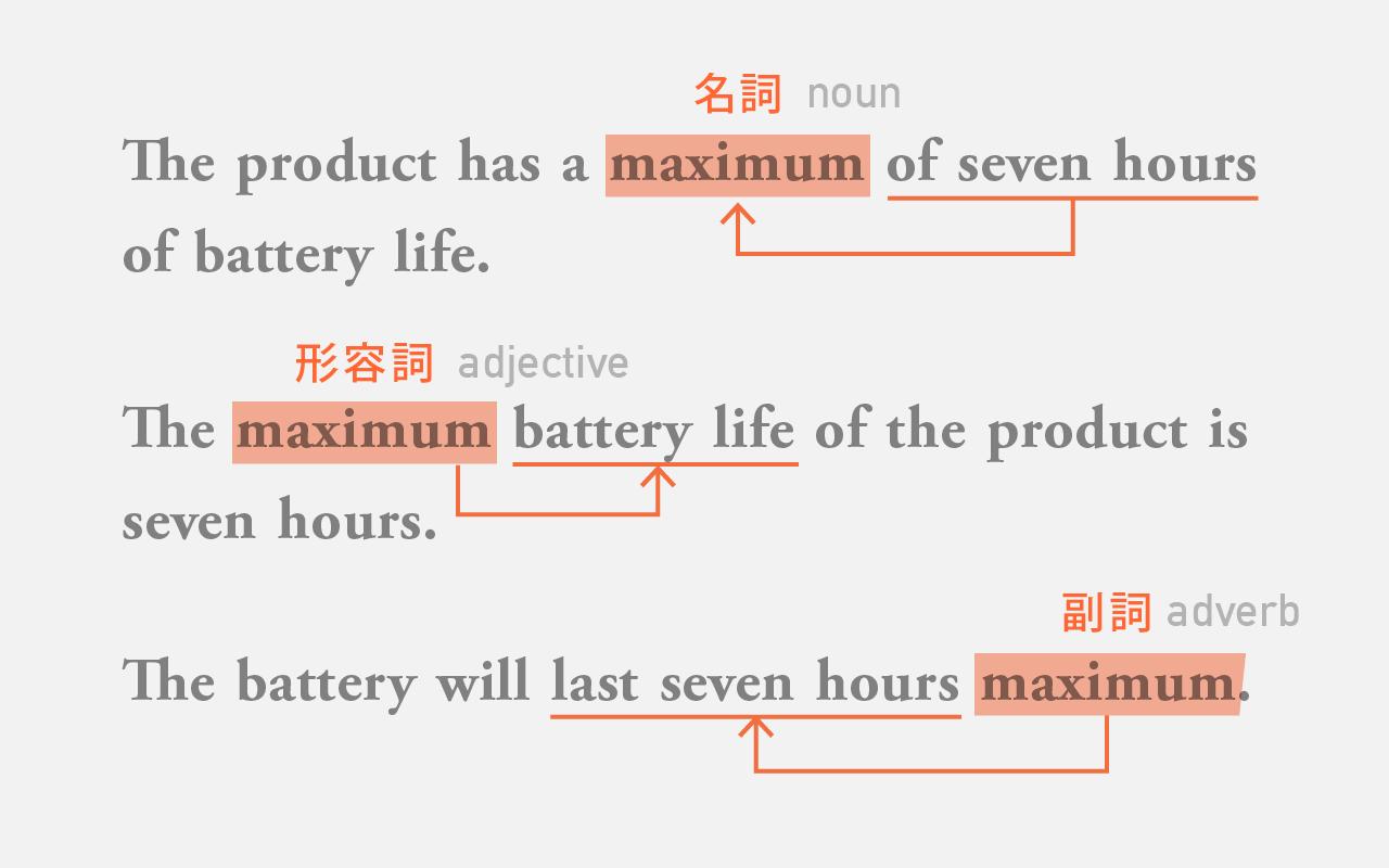 maximum battery life: seven hours